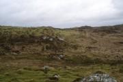 Moorland below Beinn Hynish