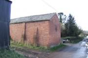 Brick barn in Upper Shenmore