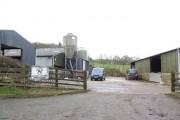 Farm buildings, Pont-y-wal Lane, Bronllys