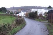 Cwmdu village