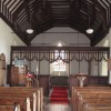 The inside of Butley church
