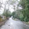 Lane junction near Rotherhurst
