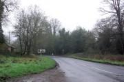 Entering Lye Green