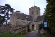 Entrance gate, St.Mary's, Meysey Hampton