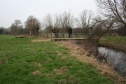 Bridge over Childrey Brook
