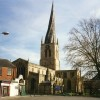 Crooked spire of Chesterfield Parish Church