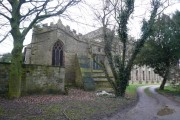 Parish Church of St Mary - Sutton-Cum-Duckmanton (Rear View)