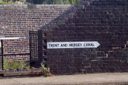 Sign on Trent and Mersey Canal