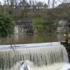 Weir by Cressbrook Mill