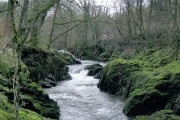 Waterfall on Afon Sawdde
