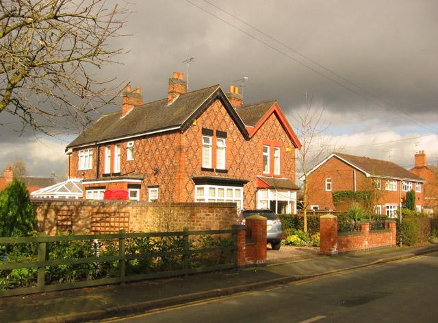 Victorian semi, Moorfields, E Willaston