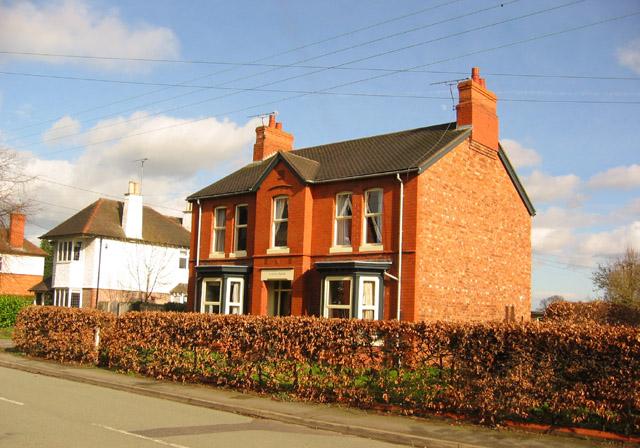 Victorian villa, Wistaston Road, Willaston
