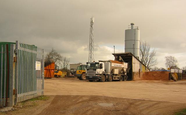 Concrete works, Trickett's Lane, Willaston