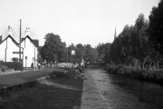 Eynsford, Kent:  the 'Plough' and River Darenth