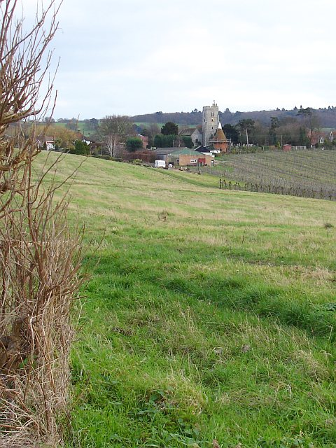 Hernhill from the west