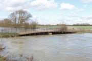 Sparsey Bridge over River Cherwell