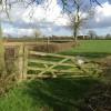 Farmland near Sibson