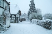 Winter snows fall East Hendred
