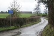 Pigeonhay Lane and Banktop Farm near Bramshall