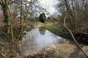 The River Lea, Ware.