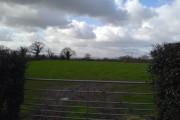 Farmland at Saughall, Chester.