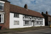 Timbered house in Helperby