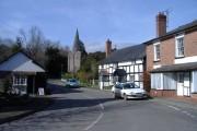 Village centre, Diwyn