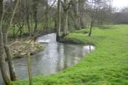 River Dorn in Steeple Barton