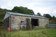 Old farm building on the West Road, Glendaruel