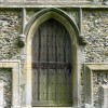St Cecilia, Little Hadham, Herts - West doorway