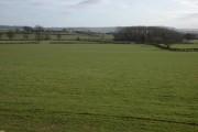 Farmland to the south of Cholstrey