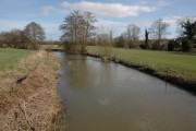 The river Arrow, Ivington
