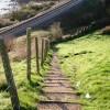 Footpath down from Sugar Loaf
