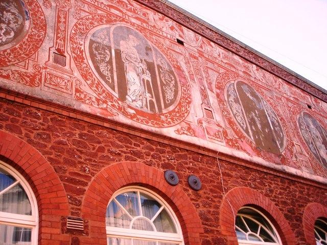 Decorative Friezes, Community College, Paignton