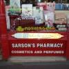 Chemist's shop window, Paignton