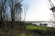 The village of Felinheli from Coed Twr