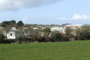 Penhale Park from the rear