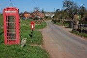 Phonebox and postbox in Ryton