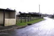 Bus shelter at Garvetagh