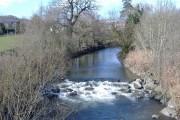 The River Rhymney, at Ystrad Mynach
