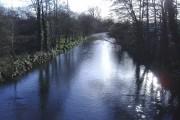 River Rhymney, Bedwas