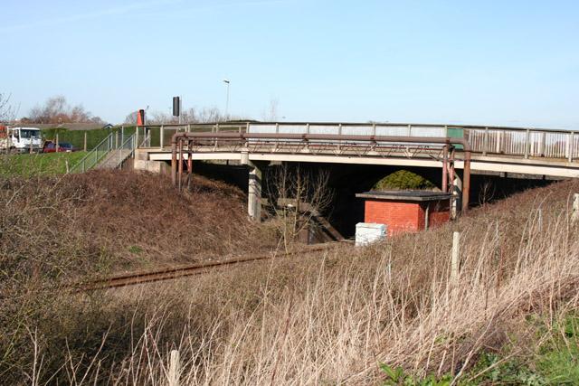 Pedestrian bridge by Ropegreen Bridge