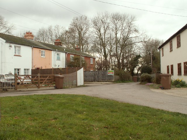 Houses at Bures Green
