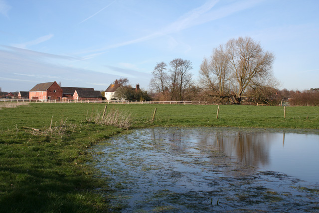 Mere south of Broughton Farm