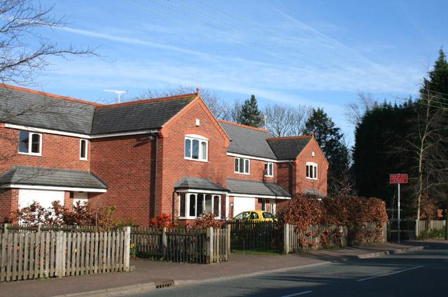 Detached houses, Rope Lane, Wistaston