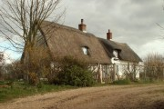 Thatched cottage at Sackers Green