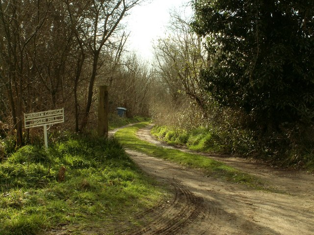 Entrance to Tiger Hill Wood
