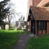 All Saints, Nazeing, Essex - Porch
