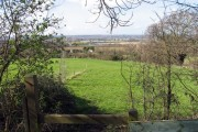 View from All Saints, Nazeing churchyard, Essex