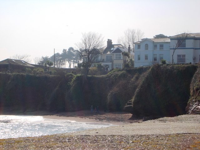Small Cove near Black Rock , from Paignton outer harbour wall